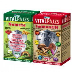 Vitalpajzs Nometa 60x + ImmunON 90x